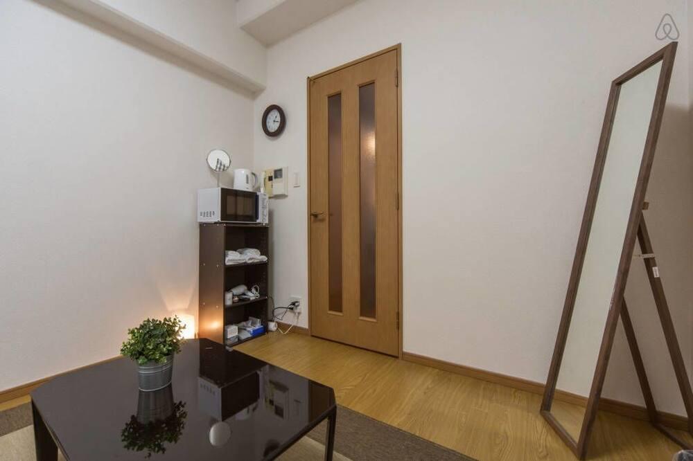 Basic Room, Refrigerator & Microwave - Living Area