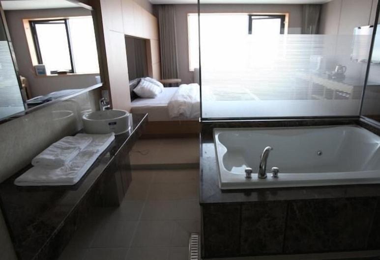 秘密飯店, 仁川, 極品雙床房, 按摩浴缸