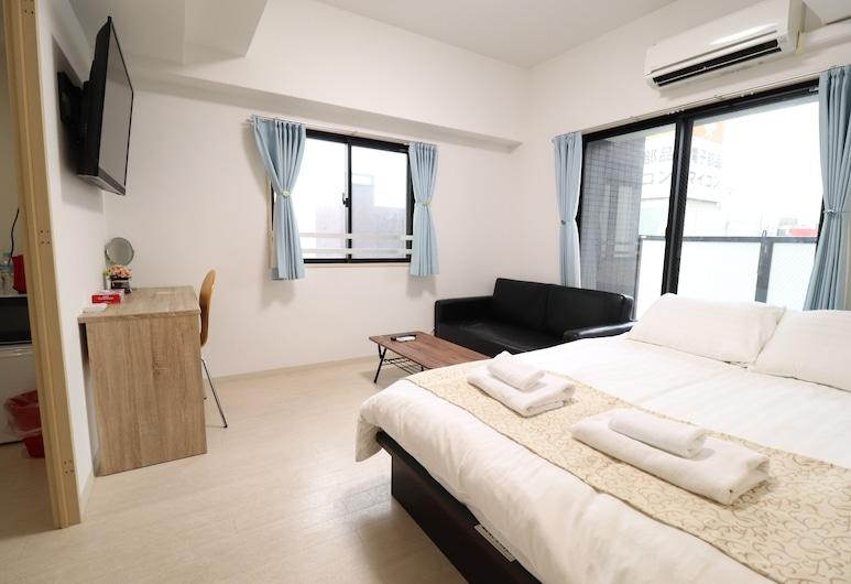 Prendre Namba, 大阪市, スタンダード アパートメント 1 ベッドルーム シティビュー 別館, 部屋