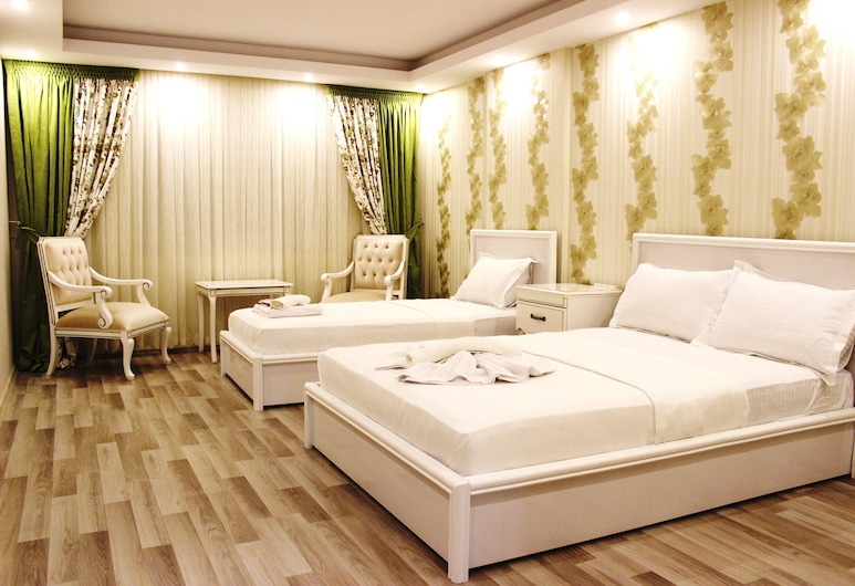 Zeugma Park Hotel, Istambul, Quarto Triplo Comfort, Vista Cidade, Vista do Quarto