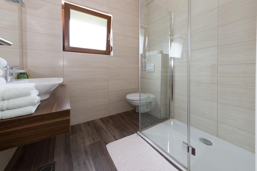 Quarto Duplo Standard, Vista Jardim - Casa de banho