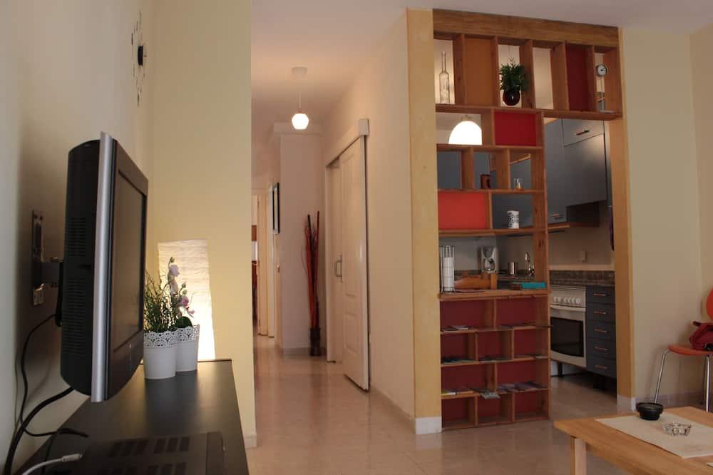 Premium-Apartment, 2Schlafzimmer - Wohnzimmer