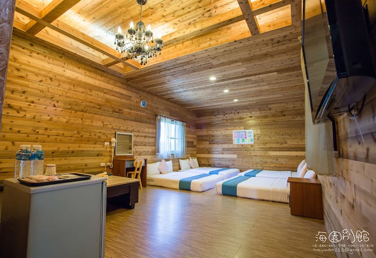 Hai Yuan Hotel 2, Hengchun, Rodinný pokoj, 1 ložnice, 2 koupelny, Pokoj
