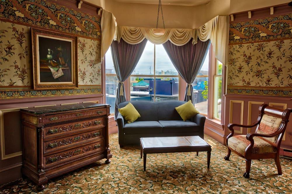Apartmán typu Premium, 1 extra veľké dvojlôžko - Obývacie priestory