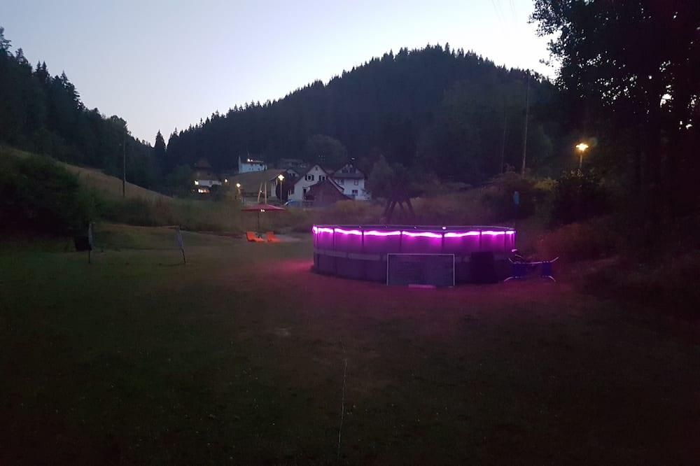 Alberca al aire libre