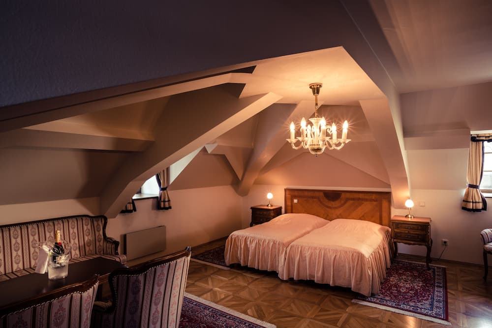 Deluxe-herbergi fyrir tvo (With Spa Access) - Stofa