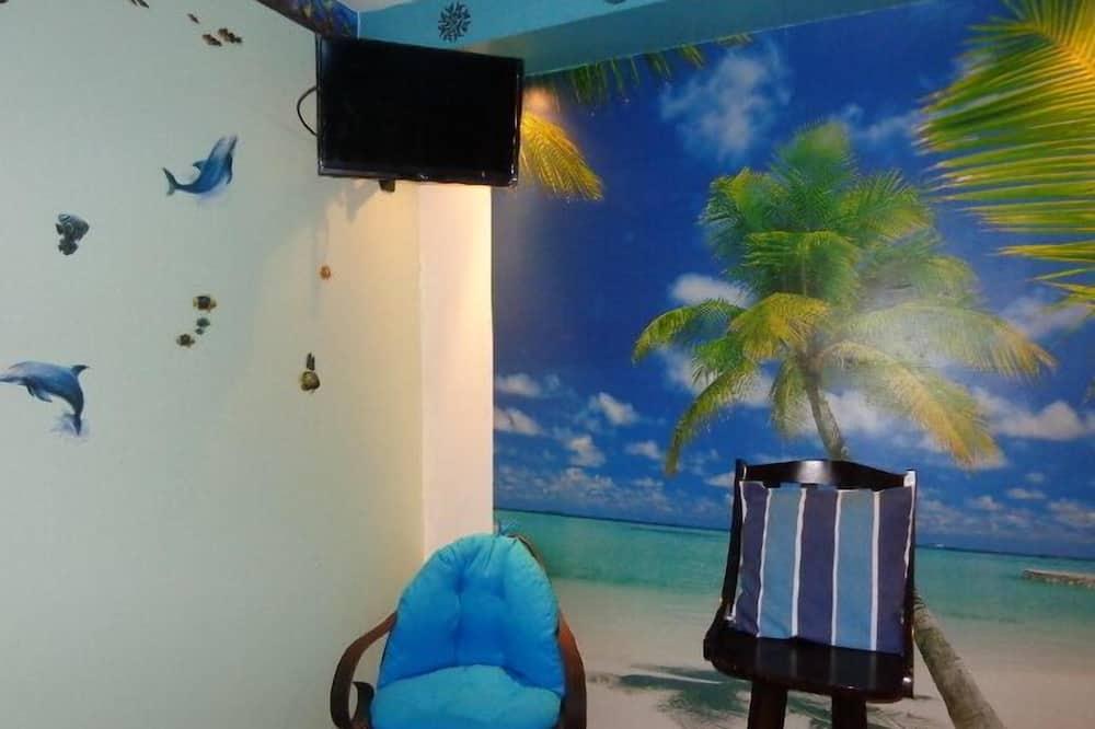 Apartment Caribe - Full Kitchen / Private Bathroom - 客廳