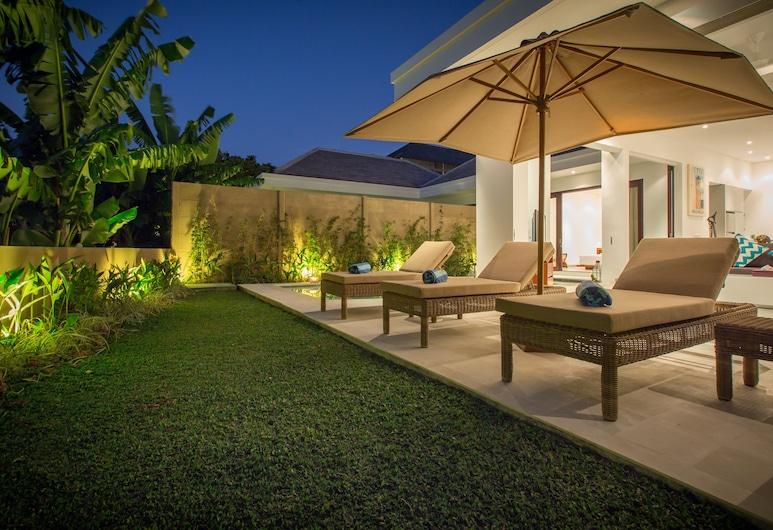 Gajah Villas Bali by Nagisa Bali, Seminyak, Vila, 2 quartos, Piscina particular, VIsta para a piscina, Terraço/pátio