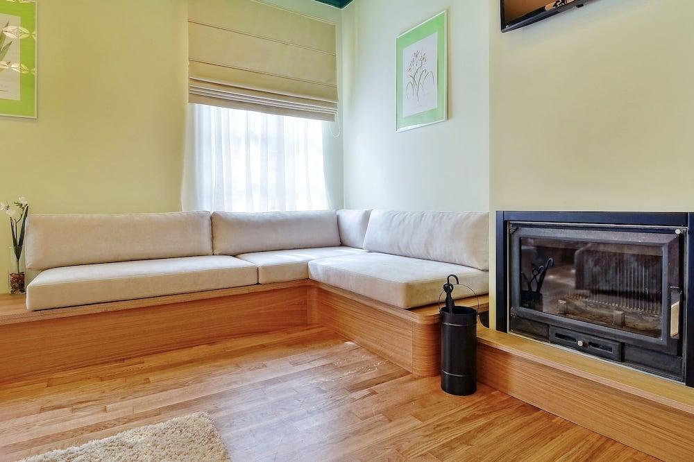 Deluxe-Suite, Whirlpool - Wohnbereich
