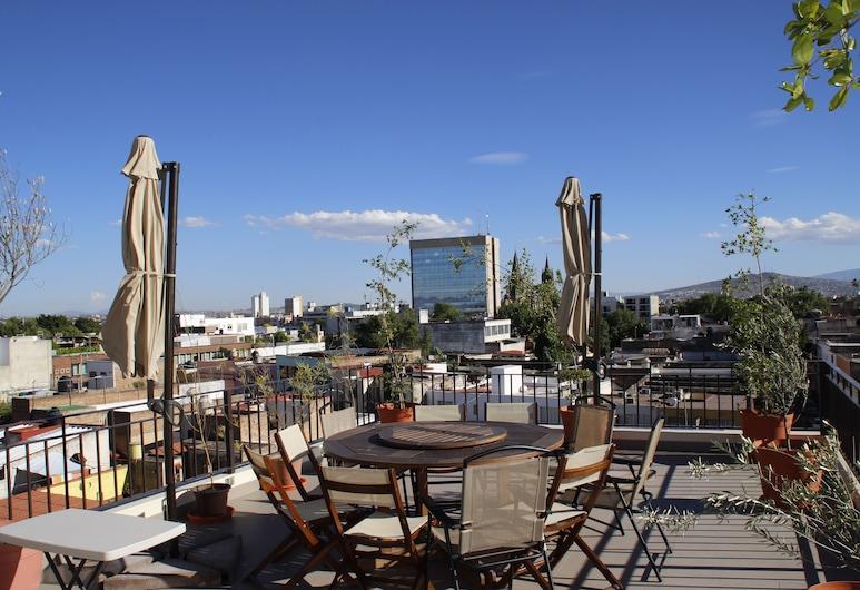 Suites Chapultepec, Guadalajara, Terrasse/Patio