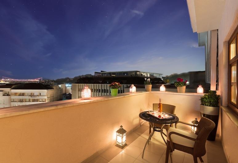 Lalahan, Istanbul, Deluxe Room, Balcony, City View, Balcony