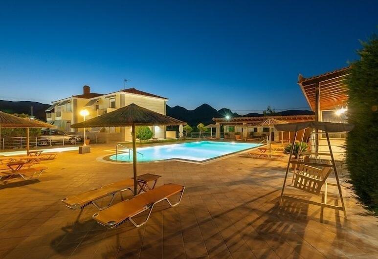 Evgatis Hotel, Lemnos, Sundeck