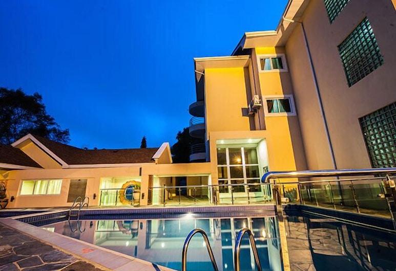 Golden Bean Hotel, Kumasi, Außenpool