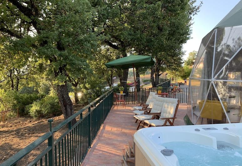 Villa Le Querce, Montecorvino Rovella, Šator, Terasa/trijem