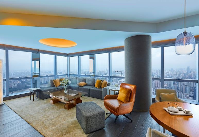 Park Hyatt Guangzhou, Guangzhou, Room, 1 King Bed, Park View, Guest Room