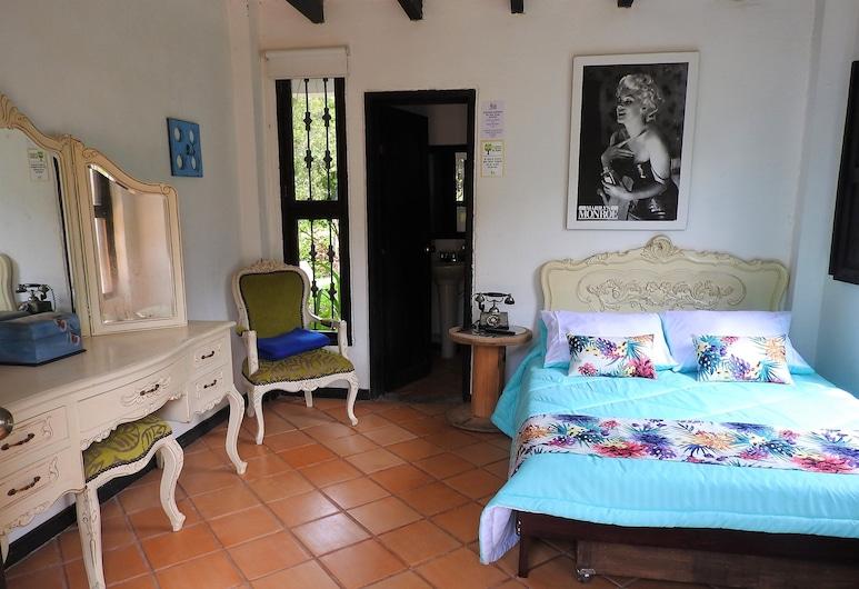 Hotel Campestre Villa Juana, Pereira, Standard szoba kétszemélyes ággyal, 1 kétszemélyes ágy, mozgássérültek számára is hozzáférhető, Vendégszoba