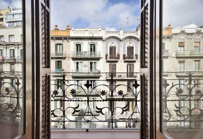 Central Apartments Barcelona, Barcelona, Apartment, 2Schlafzimmer, Balkon, Blick vom Balkon