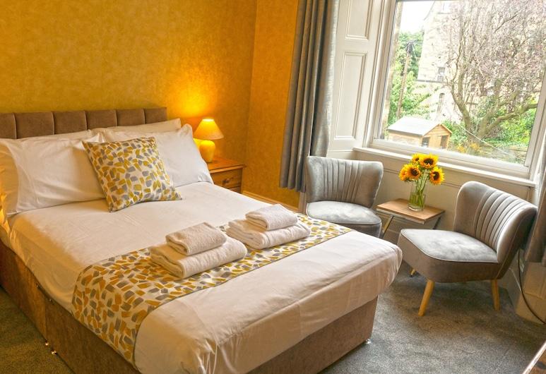 Arrandale Guest House, Edinburgh, Klassieke tweepersoonskamer, en-suite badkamer, op benedenverdieping (Room 2), Kamer