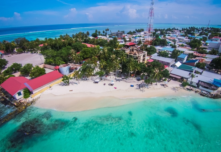 Arena Beach Hotel, Maafushi, Výhľad z hotela