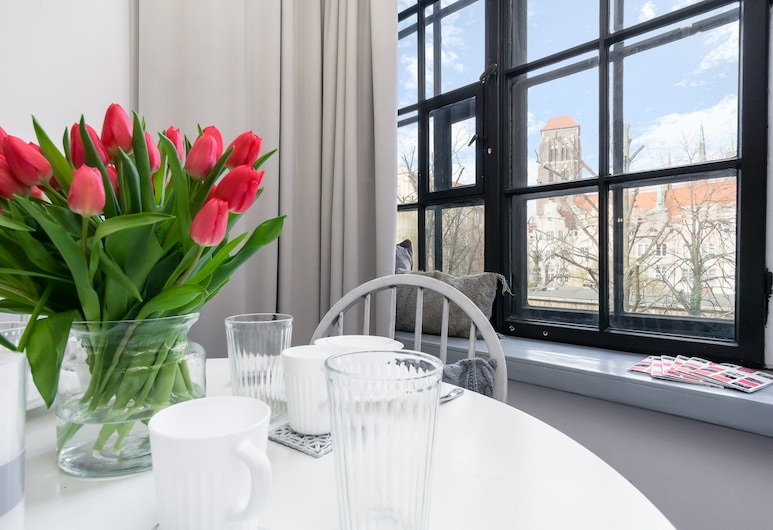 Elite Apartments – Gdansk Old Town, Gdansk, Studio – deluxe (Ogarna 98; Town hall view), Rom