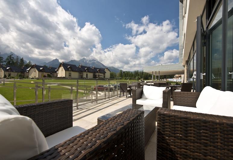 Hotel Lesná, Stara Lesna, Terrace/Patio