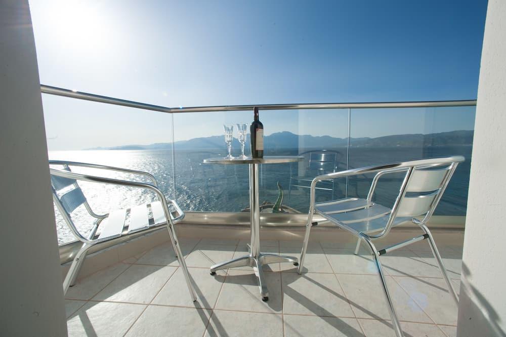 Apartament typu Suite, widok na morze - Balkon