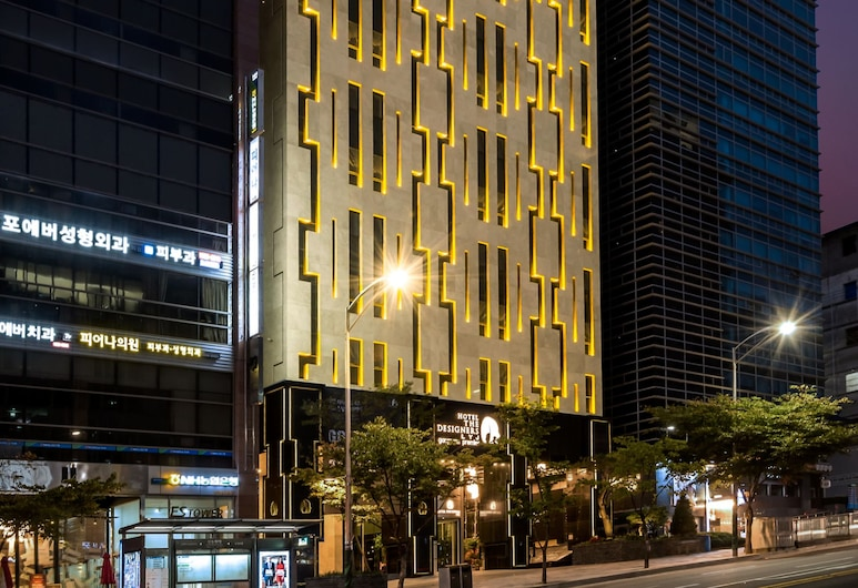 Hotel The Designers LYJ Gangnam Premier, Seoul, Hotel Front – Evening/Night