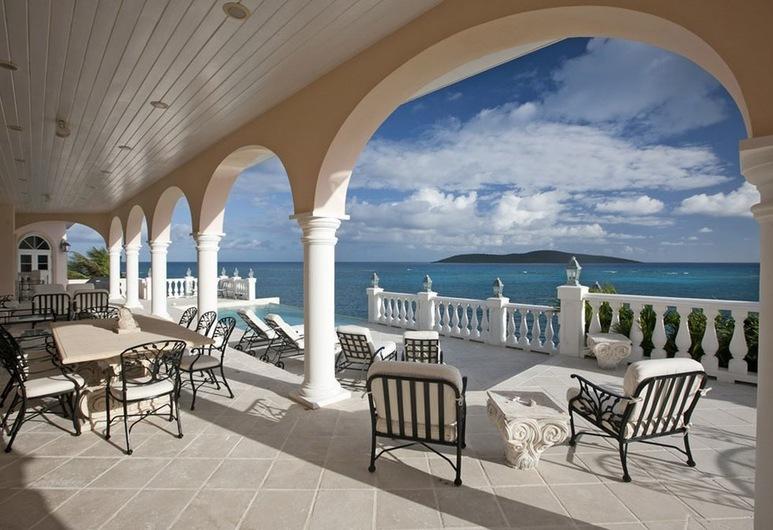 Miramar Villa, Christiansted, Villa de lujo, 5 habitaciones, Terraza o patio