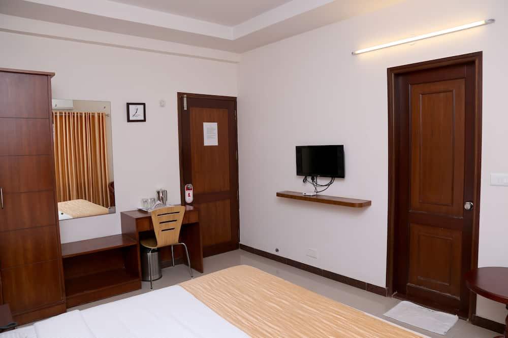 Standard Δίκλινο Δωμάτιο (Double ή Twin), 1 Διπλό Κρεβάτι, Ιδιωτικό Μπάνιο - Δωμάτιο επισκεπτών