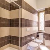 Enkelrum - 1 enkelsäng - eget badrum - Badrum