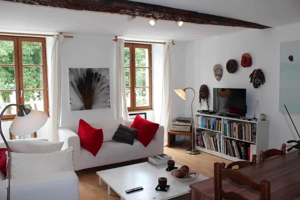 Appartement Panoramique, 3 chambres, vue fleuve - Coin séjour