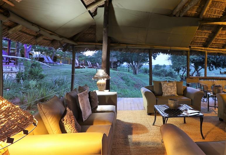 Crocodile Bridge Safari Lodge, Kruger National Park, Sala de estar en el lobby