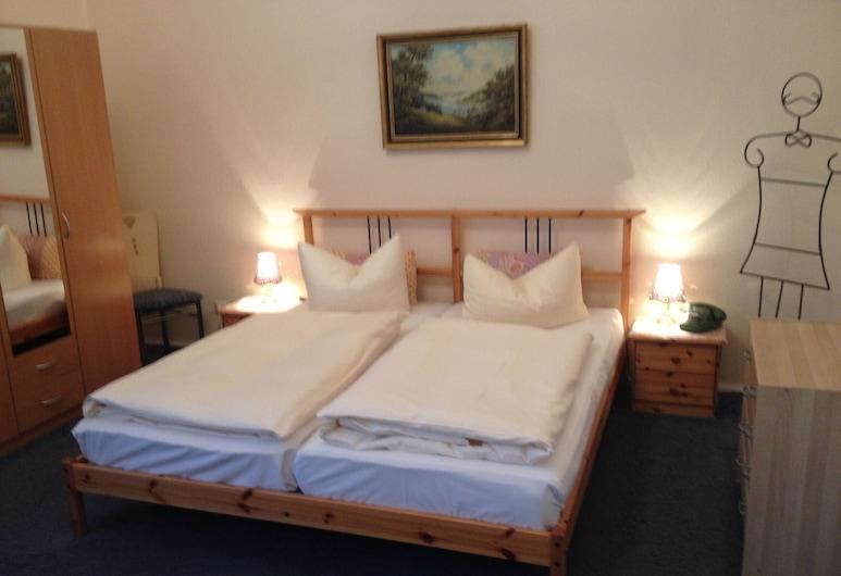 Hotel Pension Columbus, Berlin, Dobbelt- eller tomannsrom, privat bad, Gjesterom