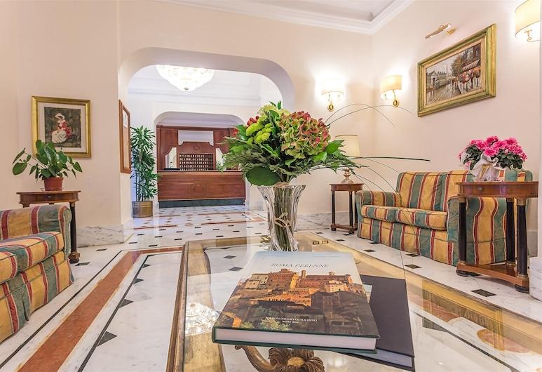 Raeli Hotel Lux, Roma, Salottino della hall
