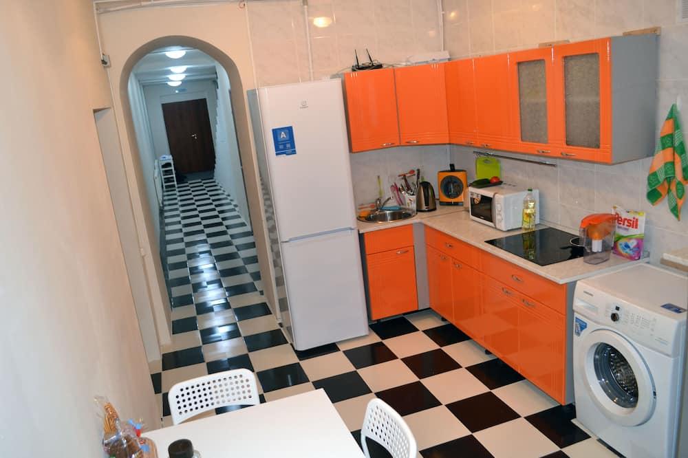 Quarto Quádruplo Básico - Cozinha partilhada