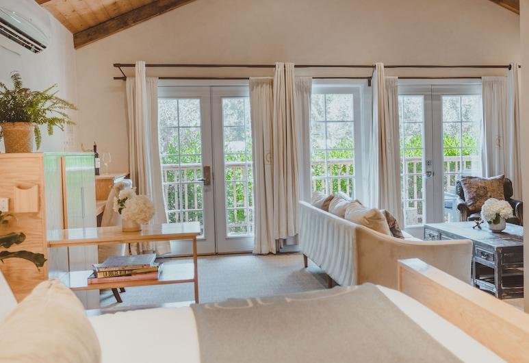 卡拉明哥遊客海灘俱樂部牧場旅館, 馬里布, Signature Single Suite Cottage, 客廳