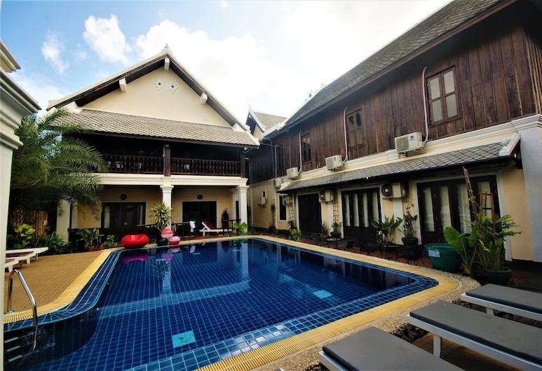 Le Vang Bua Villa, Luang Prabang, Vanjski bazen