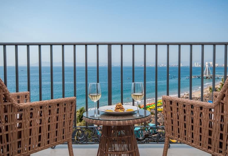 Almar Resort Luxury LGBT Beach Front Experience, Puerto Vallarta, Almar Deluxe Suite Ocean View, Oda Manzarası