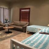 Căn hộ Deluxe, 1 phòng ngủ, Quang cảnh núi - Khu phòng khách