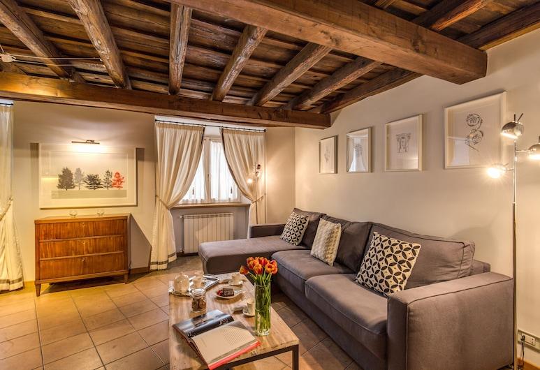 Your Suite Rome, Roma, Appartamento Superior, 2 camere da letto, vista città, Soggiorno