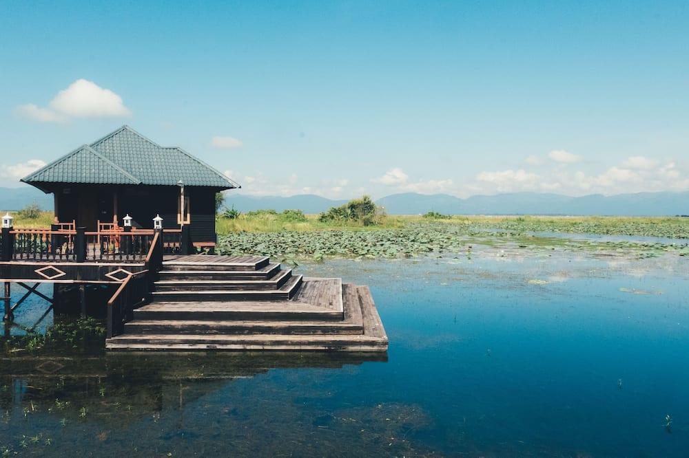 Deluxe Bungalov, 1 Çift Kişilik veya veya 2 Tek Kişilik Yatak, Göl Manzaralı, Göl Kenarı - Oda