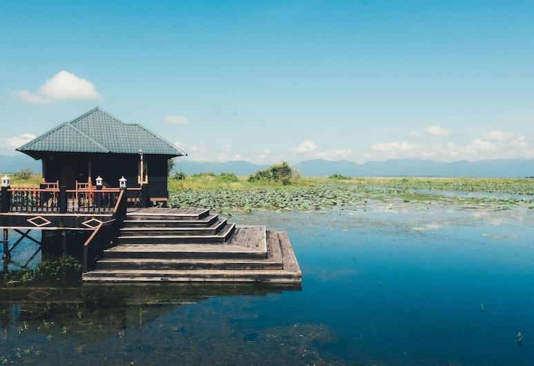 茵萊寧靜渡假村, 娘水, 豪華單棟小屋, 1 張標準雙人床或 2 張單人床, 湖景, 湖畔, 客房