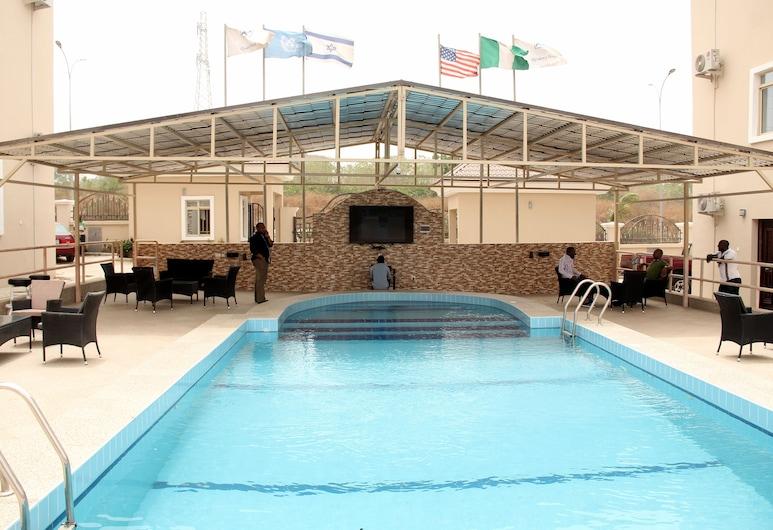 Residency Hotel Twin House, Abuja, Vonkajší bazén