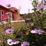 Dzīvokļnumurs, divas guļamistabas, skats uz dārzu - Skats uz pagalmu