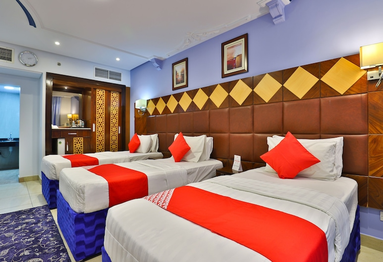 OYO 372 Nawazi Watheer Hotel, Mecka, Trippelrum, Gästrum