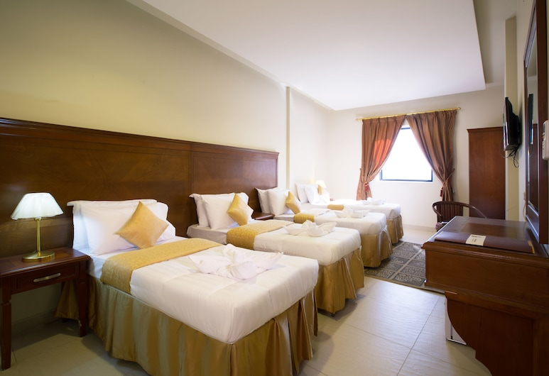 Nawazi Al Fath Hotel, Mecka, Trippelrum, Gästrum