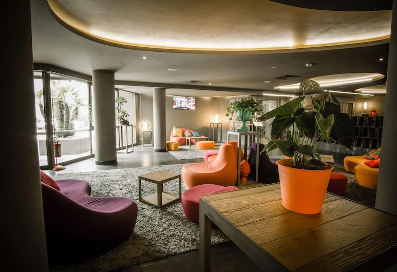 The Gate Hotel, Sesto Fiorentino, Sitzecke in der Lobby