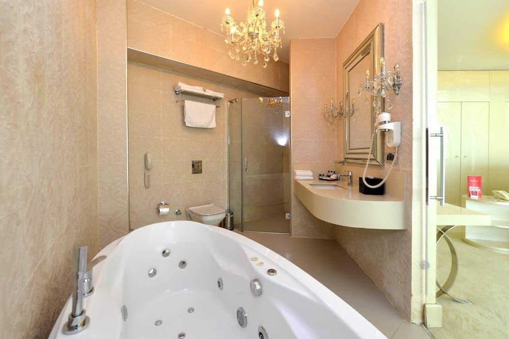 總統套房, 1 張標準雙人床 - 浴室
