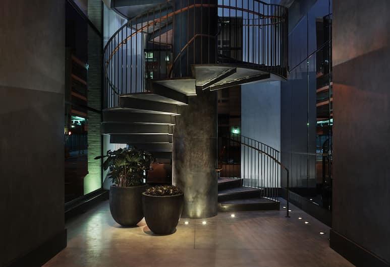 11 Howard, New York, Hotellet innvendig