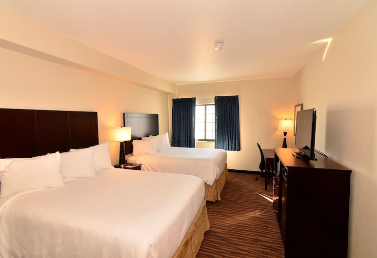 Cobblestone Inn & Suites - Holstein, Holstein, Zimmer, 2Queen-Betten, Nichtraucher, Zimmer